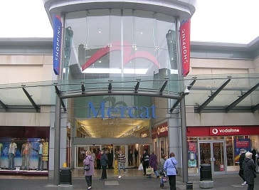 The Mercat Shopping Centre in Kirkcaldy